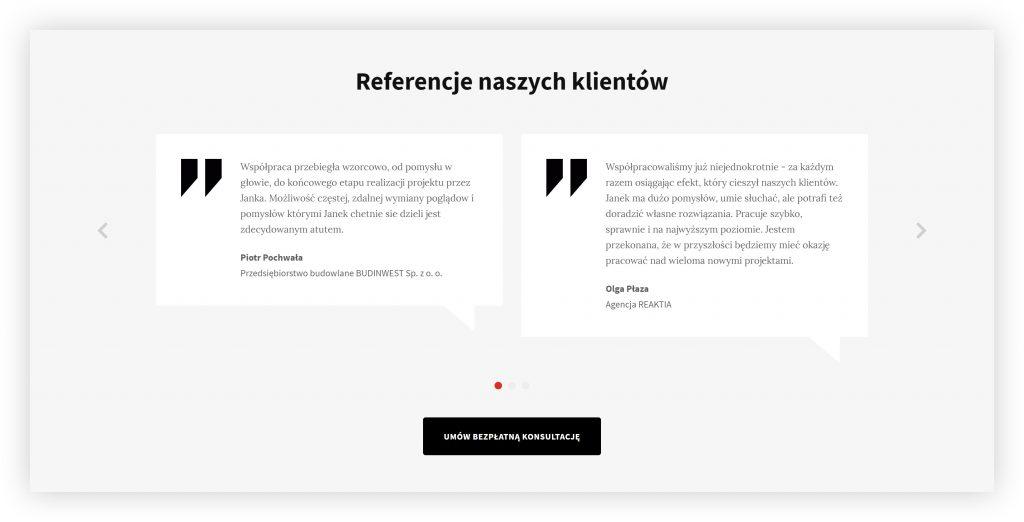Referencje klientów agencji interaktywnej The Lion z Wrocławia